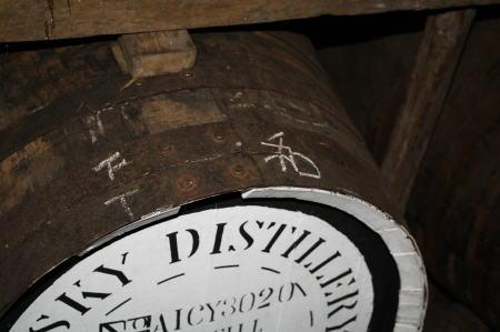 ミズナラの樽